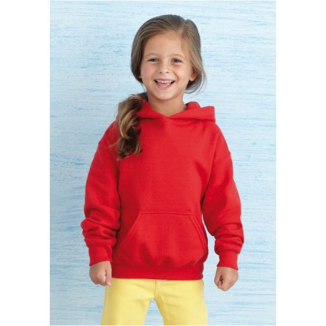 GILDAN GI18500B KIDS HOODED SWEAT - SWEAT-SHIRT CAPUCHE ENFANT