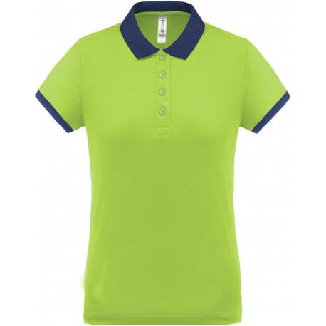 PROACT PA490 - POLO PIQUE PERFORMANCE FEMME