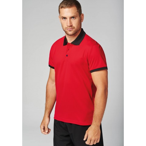 PROACT PA489 - POLO PIQUE PERFORMANCE HOMME